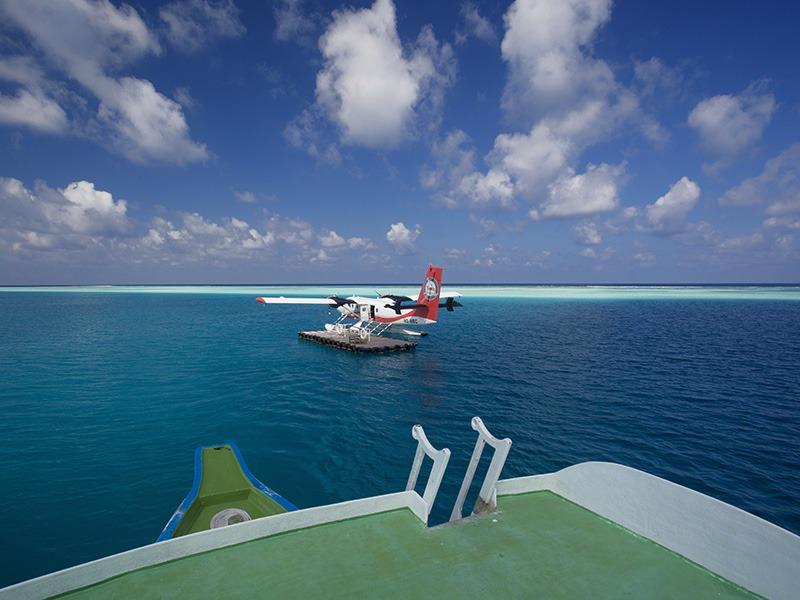 Maldives Sea plane